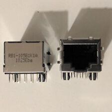 2Pcs RJ45 Network Ethernet 8P8C Female Connecteur femelle 8 pins Ethernet PCB