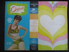 VINTAGE 1967 ALLIN of ORIGINALS LINGERIE, BIKINI FASHION CATALOG SEXY PIN-UP ART