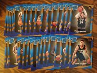 2017-18 DONRUSS BASKETBALL ROOKIES RATED ROOKIE LOT OF 33 CARDS