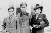 Photo WW2 Général Erwin Rommel débarquement de Normandie format 10x15 cm n237