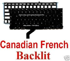 Apple MacBook Pro A1425 Keyboard - CF - Canadian French - Backlit