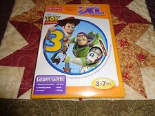 FISHER PRICE IXL LEARNING GAME NEW Disney PIXAR Toy Story 3