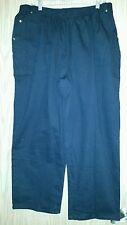 New w/Tags Black LIZ & ME Size 1XWP 18/20W Pull-On Elastic Waist Pants w/Pockets