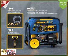 Firman 7500W Running / 9400W Peak Tri Fuel Generator