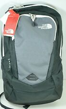 """The North Face Vault Backpack Gray Grey White Mens 15"""" Laptop Sleeve NWT"""
