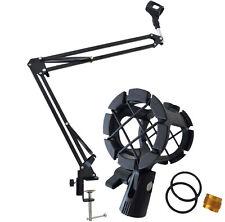 KEEPDRUM NB35 Mikrofonstativ Tisch-Mikrofonarm + PCMH1 Spinne