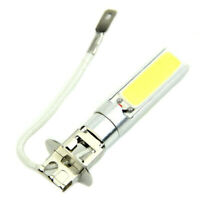 1X(12V H3 COB LED Super bright White Light Bulb Fog Running Light Bulb Head 1O1)