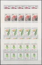 CZECHOSLOVAKIA - 1980 RARE PRINTING SHEETS Mi. 2574-2577 Sc. 2319-2322 - **MNH**