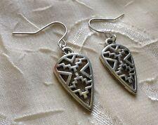 NEW Silver Aztec Ethnic Earrings Trendy Cute Fashion Jewelry Hippie Unique