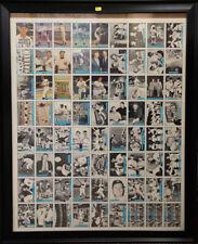 MICKEY MANTLE SIGNED AUTO AUTOGRAPH 1982 ASA-LIKE 1992 SCORE-UNCUT SHEET JSA/DNA