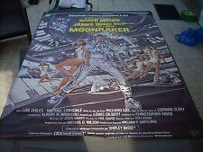 AFFICHE CINEMA     JAMES BOND 007  MOONRAKER  ROGER MOORE   156 / 116 cm