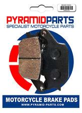 Rear brake pads for Yamaha FZ6 S2 2007