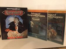 AD&D Modules I6 - Ravenloft & I10 Ravenloft II / TSR 9075+9181 and Starter Box