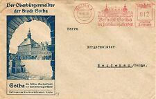 Ungeprüfte Briefmarken aus dem deutschen Reich (1933-1945) mit Bedarfsbrief