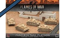 Flames of War 4th Edition German Panzer IV Tank Platoon FOW GBX97
