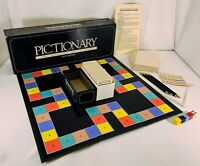 1985 Pictionary 1st Edition CharadeS Game Complete in Good Cond FREE SHIPPING