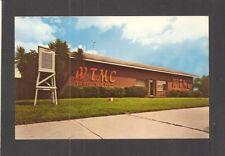 ADVERTISING CARD / POSTCARD:  WTMC AM 1290 RADIO STATION - OCALA, FLORIDA