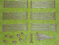 Renedra Plastic Bar Fencing - For 28mm Wargames ACW, Historical or Fantasy