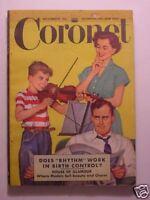 CORONET November 1950 NEW YORK GLAMOUR MODELS PIOTR DIMITRI MARIE WILSON +++