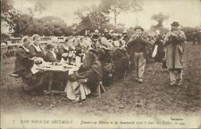 CPA Carte Postale Ancienne BRETAGNE Noce bretonne biniou bombarde Morlaix
