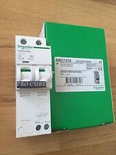 SCHNEIDER ELECTRIC 10A 30MA 2 polos A9D11210 ACTI 9 RCBO 240V 055872