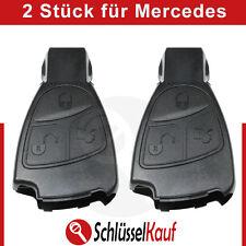 2 Stück MERCEDES BENZ 3 Tasten Schlüssel Gehäuse W168 W202 W203 W208 W210 W211