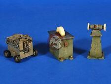 Verlinden 1/35 Panzerwerk Workshop Grinders and Welder (3 pieces) [Diorama] 2632