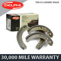 SET OF REAR DELPHI LOCKHEED BRAKE SHOES FOR NISSAN SERENA TERRANO II (1992-2002)