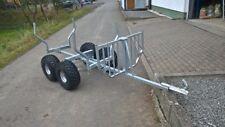 GEO Rückewagen, Forstanhänger, für ATV Quad Traktor BBS Forsttechnik