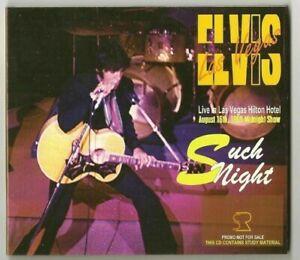 ELVIS PRESLEY Such Night 1969 Digipack Ballad Rock ' n' roll CD Rare Lim