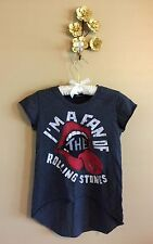 I'm a Fan of the Rolling Stones T Shirt S/M by Transmission Graphic Hi Low Cut