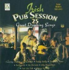 IRISH PUB SESSION: 25 GREAT DRINKING SONGS NEW CD