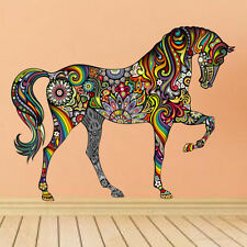 Animal Horse Wall Sticker Removable Vinyl Home Decor Nursery Kids Room Mural DIY