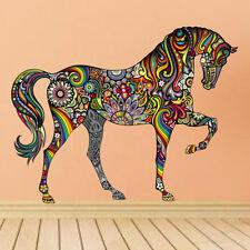 Animal Cheval Autocollant Mural Vinyle Amovible Art Décor Maison Nurserie
