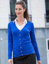 Feine hüftlange Damen-Pullover & -Strickware aus Baumwollmischung mit Knöpfen