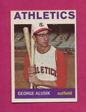 1964 TOPPS # 431 ATHETICS GEORGE ALUSIK  NRMT  CARD (INV# A4837)