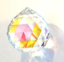 20mm Swarovski  Strass AB Aurora Borealis  Crystal Ball Prism Wholesale Logo CCI