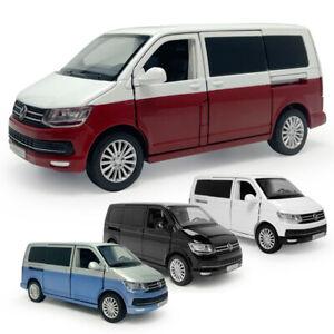 1:32 VW Multivan T6 MPV Model Car Alloy Diecast Toy Vehicle Kid Gift Sound Light