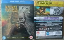 MAD MAX FURY ROAD: BLACK AND CHROME STEELBOOK ( SEALED UK ALL REGION BLU-RAY )