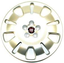 "Fiat Doblo 2009 - 2015 16"" Wheel Trim Single x1 Red Centre New Genuine 51894538"