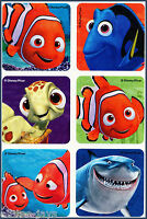 Finding Nemo Stickers x 18, 24, 30 or 36 - Birthday Party Favours - Preschool