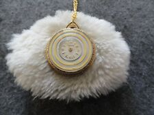 Vintage Swiss Made Trice Wind Up Necklace Pendant Watch