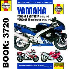 Yamaha yzf750r Yzf1000r Thunderace 1993-2000 Haynes Manual de taller