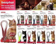 Beaphar Soft Flea Collar Velvet Glitter Sparkle Diamante Reflective For Cat