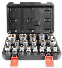 Steckschlüssel Satz 1/2 Zoll Werkzeug 21 Teile 8-32 Torx Vielzahn Nüsse Nuss Set