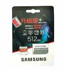 Samsung 128GB 256G 512GB Micro SD Memory Card C10 Micro SD Card 100MB/s EVO Plus
