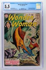 Wonder Woman #107 - DC 1959 CGC 5.5 1st full Appearance of Wonder Girl. Origin o