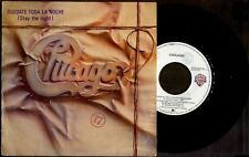 """CHICAGO - Stay The Night / Only You - SPAIN SG 7"""" WB 1984 - Vinyl 45rpm Single"""