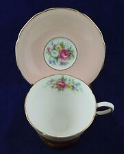PARAGON PINK, FLORAL CUP AND SAUCER