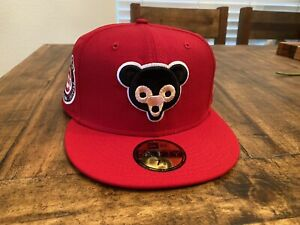 Chicago Cubs 1962 All Star Game Glow in the Dark Peach UV New Era Fitted 7 5/8